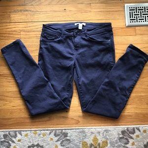 Forever 21 Blue Khaki Pants
